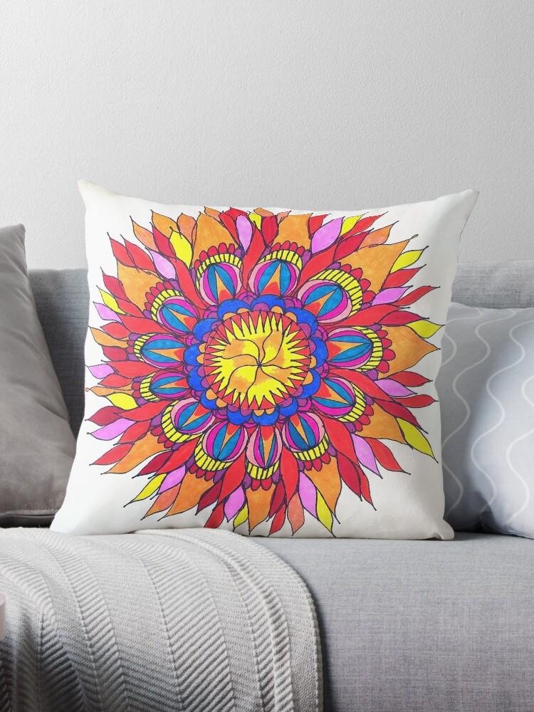 Sun Burst Mandala by MizMeliz