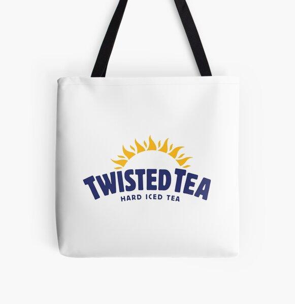 Twisted Tea All Over Print Tote Bag