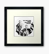 Sherlock Holmes and John Watson Sherlocked Framed Print
