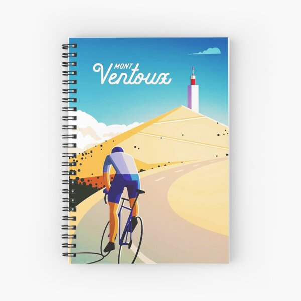 Affiche Vintage Mont Ventoux Cahier à spirale