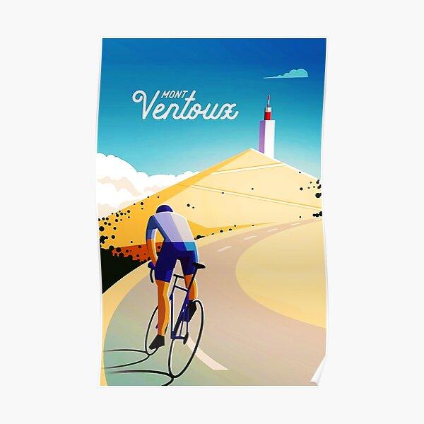 Affiche Vintage Mont Ventoux Poster