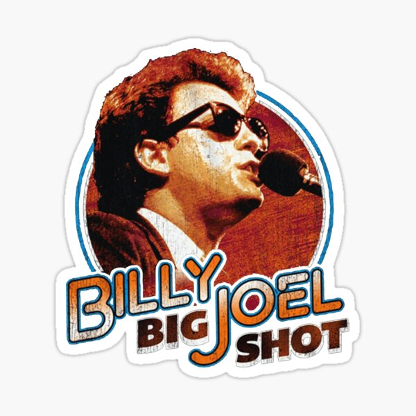 The Billy Joel Greatest All Of Times Sticker