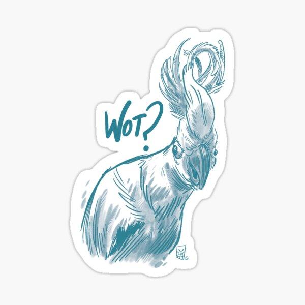 Wot? Sticker