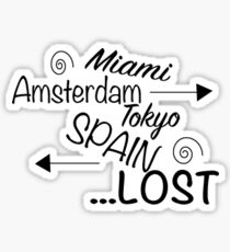 Lost Sticker