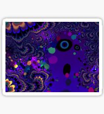 My Mind is Going. I Can Feel It. - Psychedelic Visionary Art Sticker
