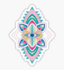 Tribal Eye Motif Sticker
