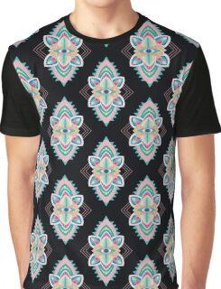 Tribal Eye Motif Graphic T-Shirt