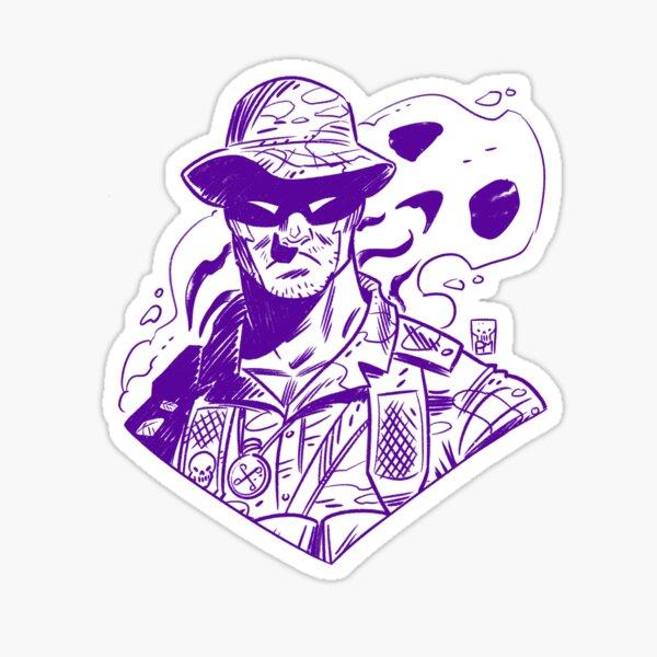 Ghost Soldier #2 Sticker