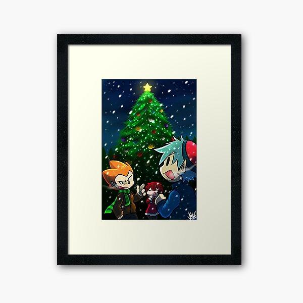 Christmas Funkin! Framed Art Print