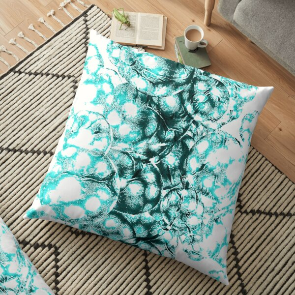 Every galaxy comes from quantum fluctuations billions of years ago Floor Pillow