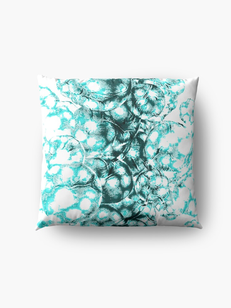 Alternate view of Every galaxy comes from quantum fluctuations billions of years ago Floor Pillow