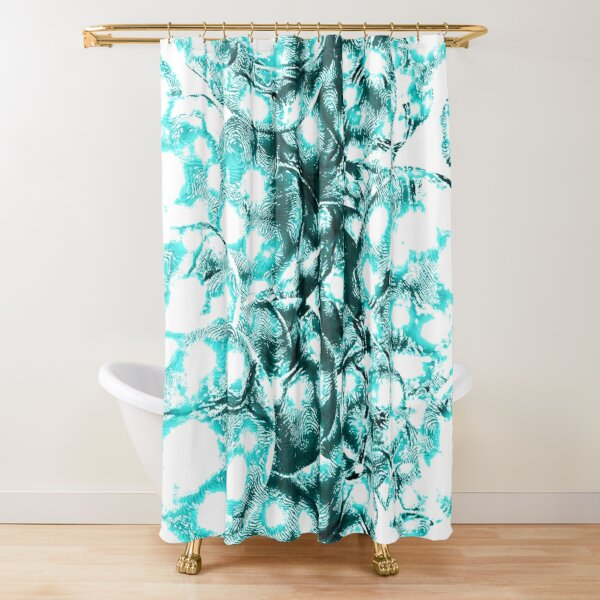 Every galaxy comes from quantum fluctuations billions of years ago Shower Curtain