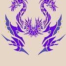 Tri-fang Tiamat by drakenwrath