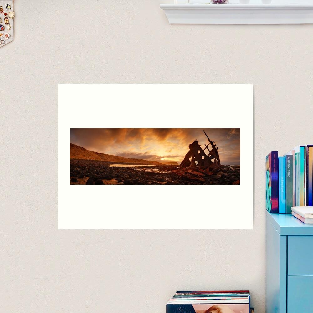 Speke Wreck, Phillip Island, Victoria, Australia Art Print