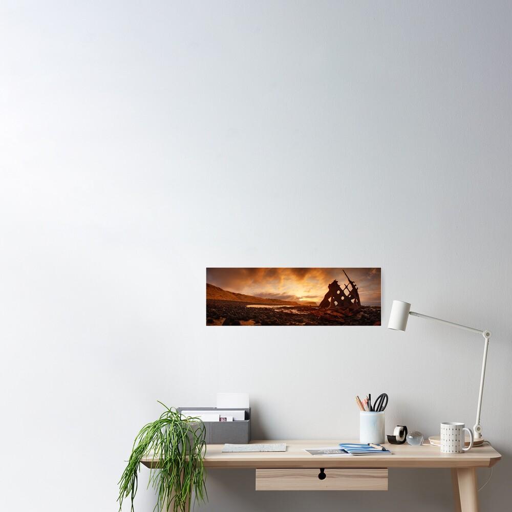 Speke Wreck, Phillip Island, Victoria, Australia Poster