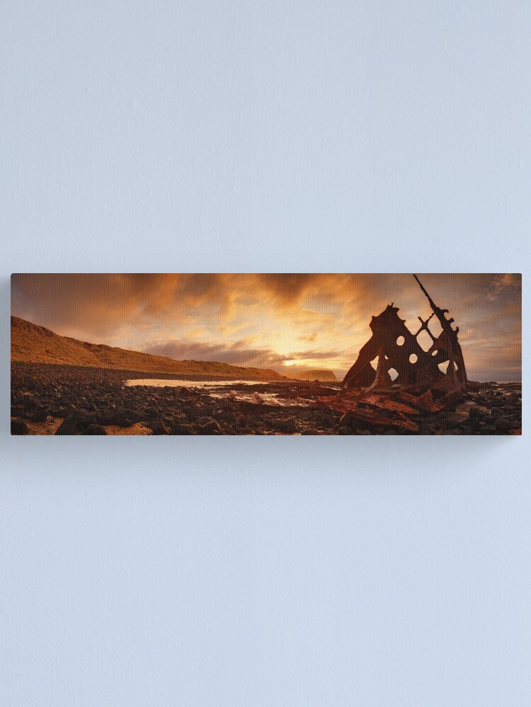 Alternate view of Speke Wreck, Phillip Island, Victoria, Australia Canvas Print
