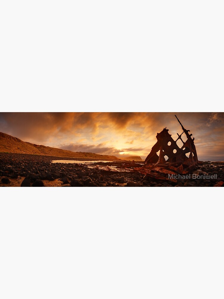 Speke Wreck, Phillip Island, Victoria, Australia by Chockstone