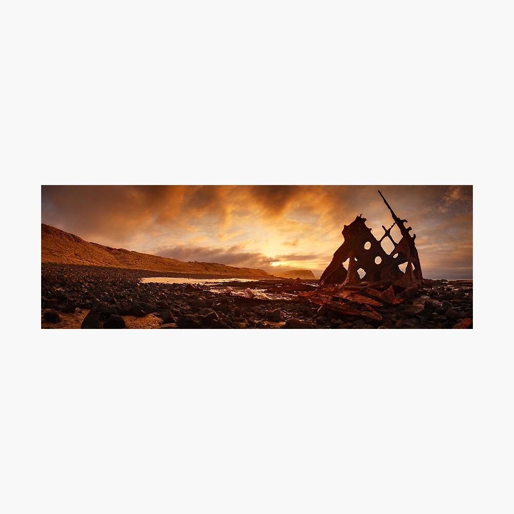 Speke Wreck, Phillip Island, Victoria, Australia Photographic Print