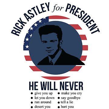 Rick Astley para presidente de SarGraphics
