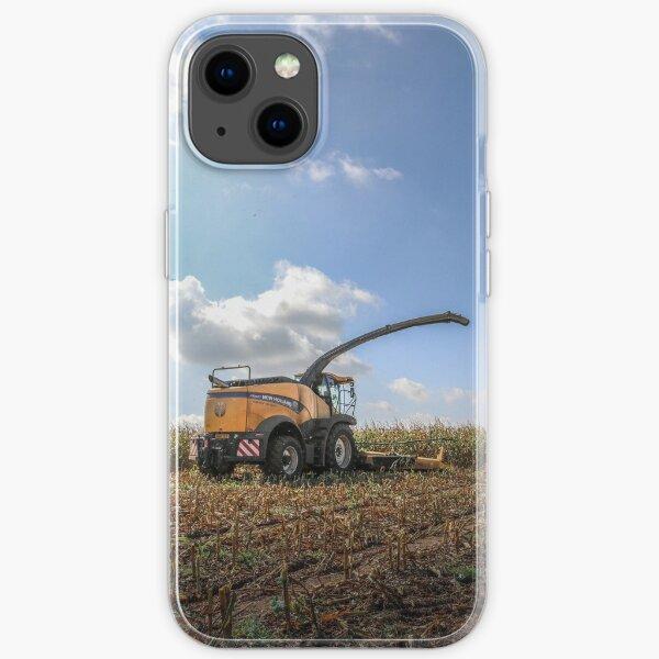 Récolteuse de fourrage New Holland Coque souple iPhone