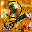 World Series D-2 Circles and Triangles by ksgfineart