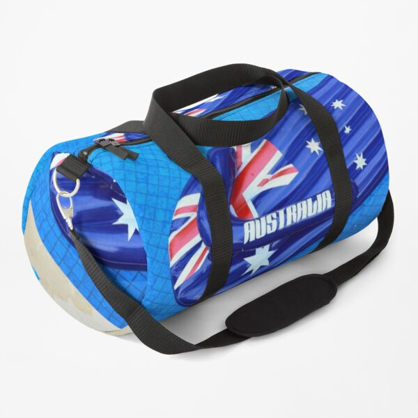 Floating Australian Flag Thong Lounge in the Pool Duffle Bag