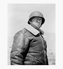 General Patton Photographic Print