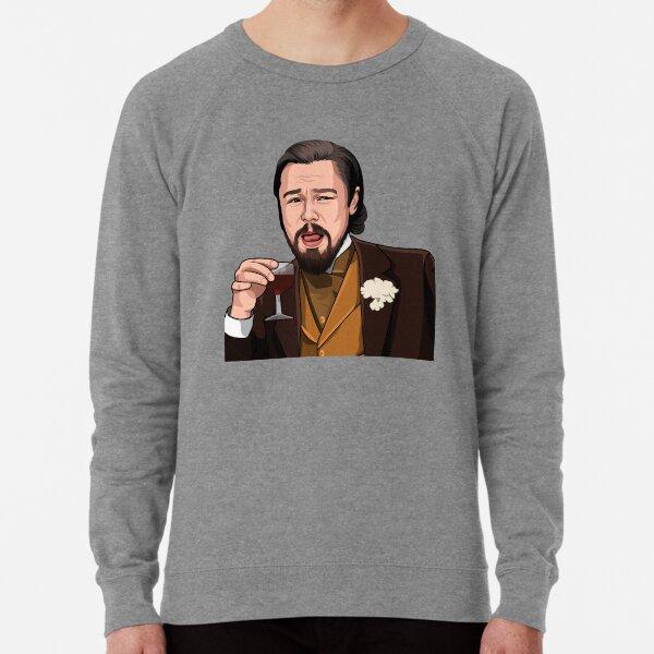 Leonardo DiCaprio Meme Laughing Leo Lightweight Sweatshirt