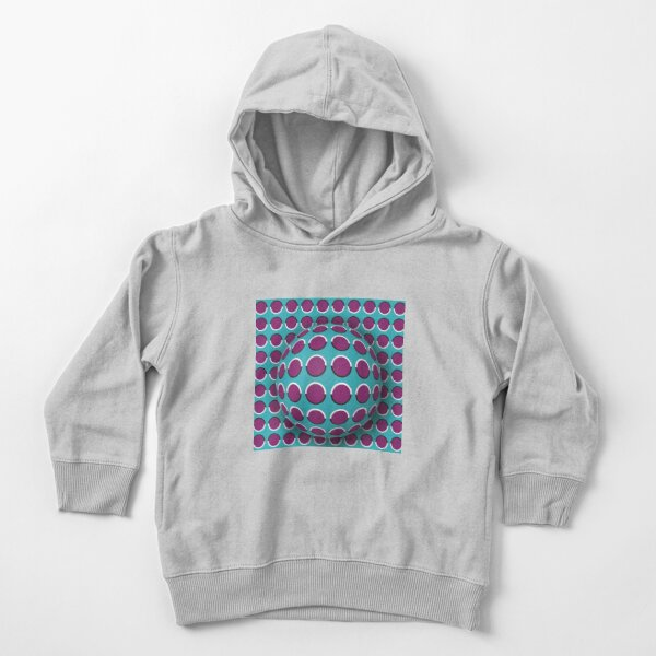Visual Illusion Toddler Pullover Hoodie