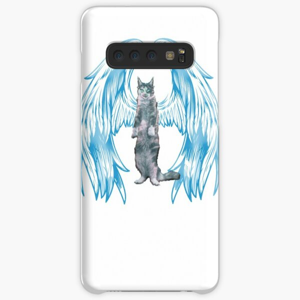 angel cat for new 2021 to creat a new style for valantain day its fanny lovely then olders Samsung Galaxy Snap Case