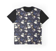 x-files print Graphic T-Shirt