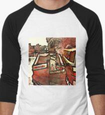 Narrow Boat Ilford Men's Baseball ¾ T-Shirt