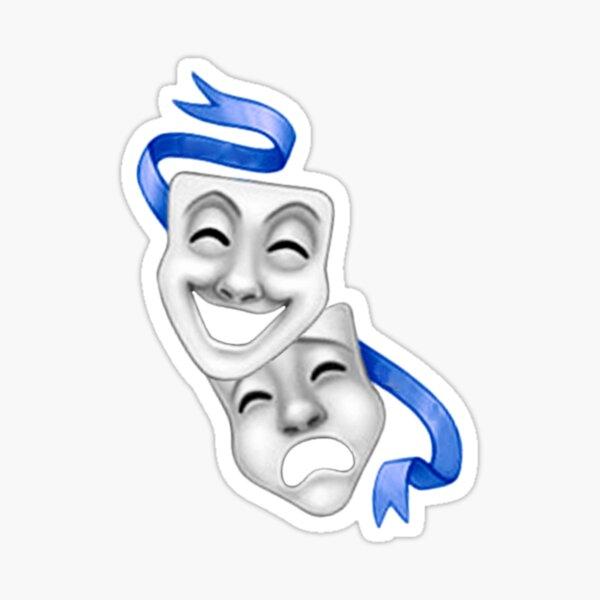 Fake smile  Sticker