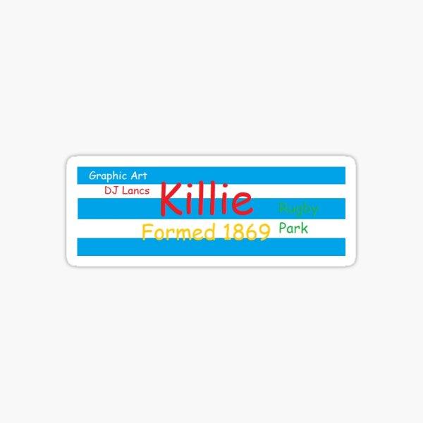 Killie - Fan-Tastic Sticker