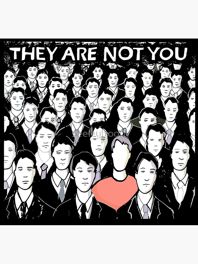 they are not you by seeleybooth