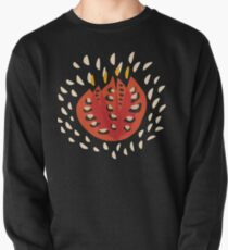 Abstract Red Tulip Pullover