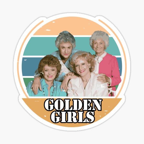THE GOLDEN GIRLS PICTURE IT QUARANTINE 2020 VIntage Sticker