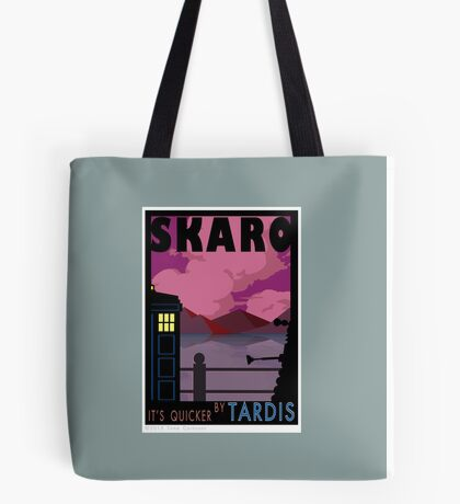 SKARO QUICKER BY TARDIS Tote Bag