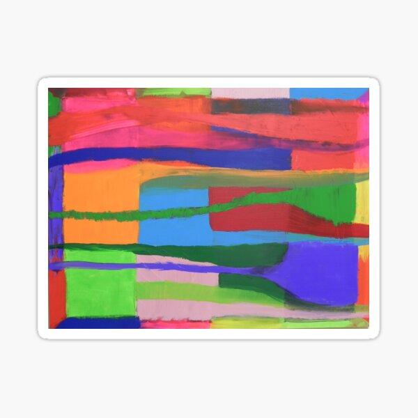 Landscape of Color Sticker
