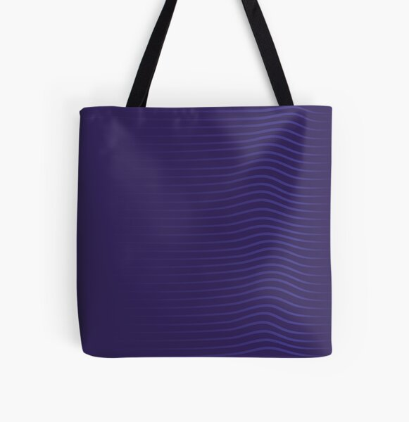 Lines Forming A Wavy Effect All Over Print Tote Bag