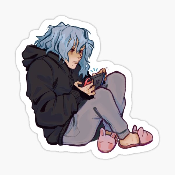 Shigaraki Gamer Sticker