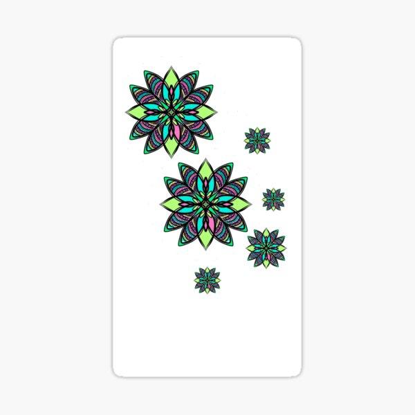 floral nish 2 Sticker