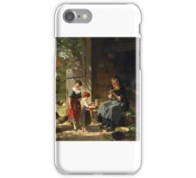 Adolf Eberle  Werner Hermann iPhone Case/Skin
