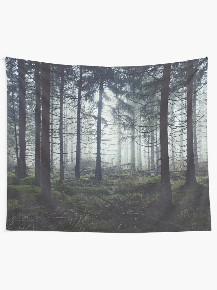 Alternate view of Through The Trees Tapestry
