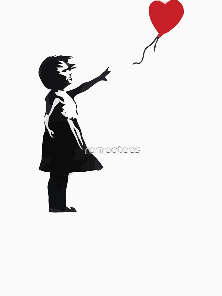 Banksy - Girl with Balloon | Unisex T-Shirt