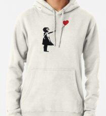 Banksy - Mädchen mit Ballon Hoodie