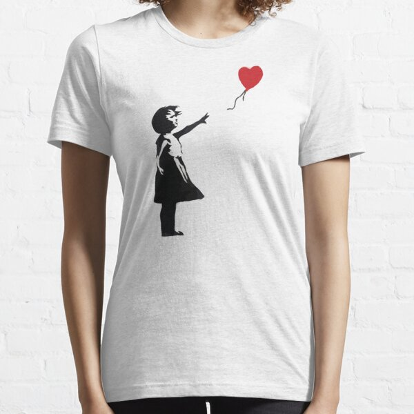 Banksy - Girl with Balloon Essential T-Shirt