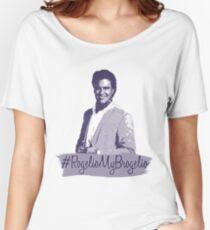 #RogelioMyBrogelio (Rogelio de la Vega - Jane The Virgin) Women's Relaxed Fit T-Shirt