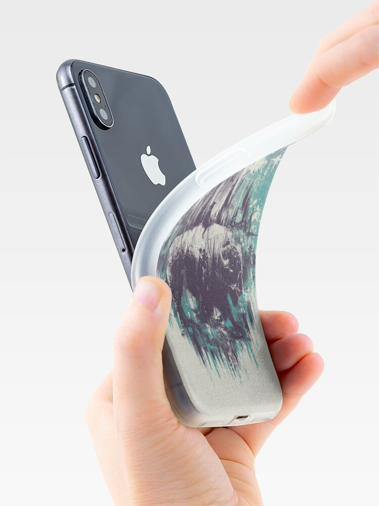 Alternate view of wanderlust iPhone Case & Cover