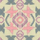 Girly Ikat  by Perrin Le Feuvre